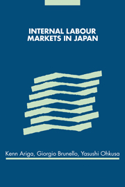 Internal Labour Markets in Japan