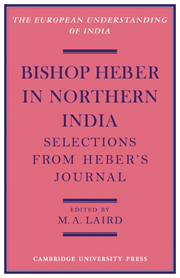 Bishop Heber in Northern India