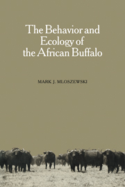 The Behavior and Ecology of the African Buffalo