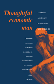 Thoughtful Economic Man