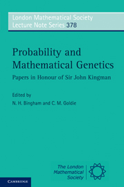 Probability and Mathematical Genetics