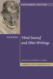 Gandhi: 'Hind Swaraj' and Other Writings