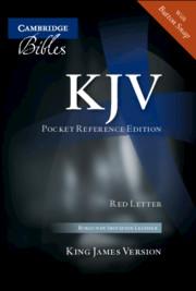 KJV Pocket Reference Edition KJ242:XRF
