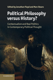 Political Philosophy versus History?