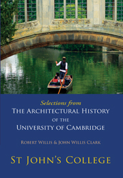 Selections from The Architectural History of the University of Cambridge