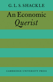 An Economic Querist