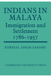 Indians in Malaya