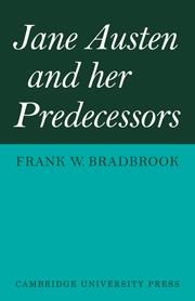 Jane Austen and her Predecessors