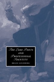 The Lake Poets and Professional Identity