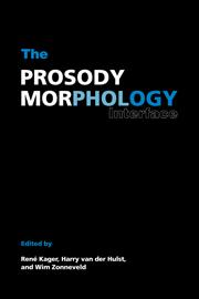 The Prosody-Morphology Interface