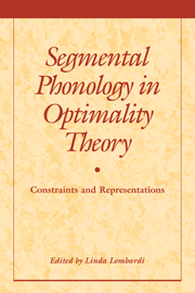 Segmental Phonology in Optimality Theory