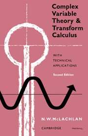 Complex variable theory and transform calculus technical look inside complex variable theory and transform calculus fandeluxe Gallery