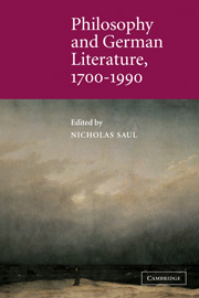 Philosophy and German Literature, 1700–1990