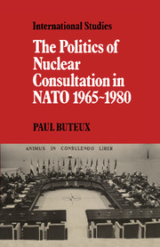 The Politics of Nuclear Consultation in NATO 1965–1980