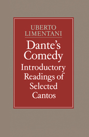 Dante's Comedy: Introductory Readings of Selected Cantos