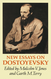 New Essays on Dostoyevsky