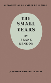 The Small Years