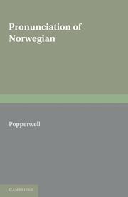 Pronunciation of Norwegian