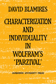 Characterization and Individuality in Wolfram's 'Parzival'