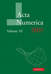Acta Numerica 2001