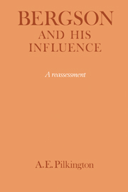 Bergson and his Influence