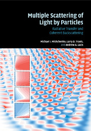 Multiple Scattering of Light by Particles