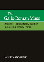 The Gallo-Roman Muse