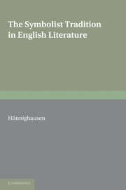 The Symbolist Tradition in English Literature