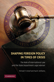 Shaping Foreign Policy in Times of Crisis