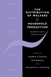 The Distribution of Welfare and Household Production