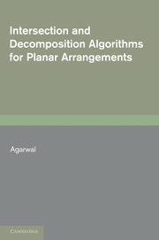 Intersection and Decomposition Algorithms for Planar Arrangements