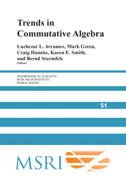 Trends in Commutative Algebra
