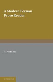A Modern Persian Prose Reader