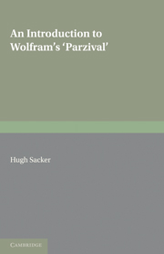 An Introduction to Wolframs 'Parzival'