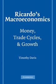 Ricardo's Macroeconomics