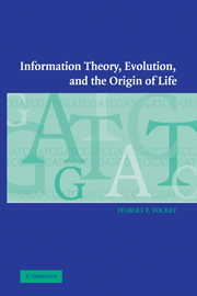 Information Theory, Evolution, and the Origin of Life
