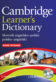 Cambridge Learner's Dictionary English–Polish with CD-ROM