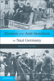 Zionism and Anti-Semitism in Nazi Germany