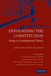 Expounding the Constitution