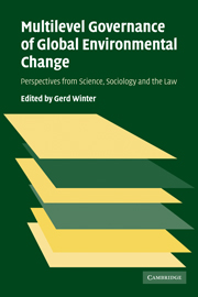 Multilevel Governance of Global Environmental Change