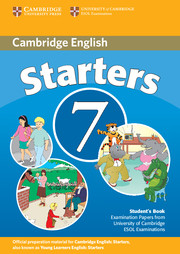 Cambridge Young Learners English Tests 7