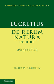 Lucretius: De Rerum NaturaBook III