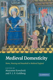 Medieval Domesticity