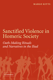 Sanctified Violence in Homeric Society