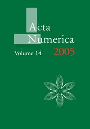Acta Numerica 2005
