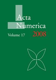 Acta Numerica 2008