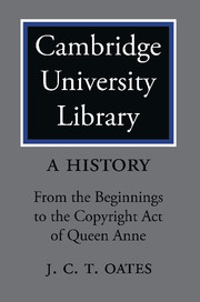 Cambridge University Library: A History
