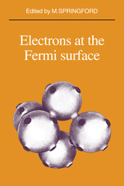 Electrons at the Fermi Surface