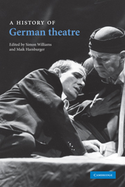 A History of German Theatre