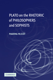 Plato on the Rhetoric of Philosophers and Sophists